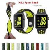 Apple Watch Nike Spor 38 40 42 44 Mm Kordon Kayış Silikon Yeni Mo