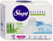 Sleepy Natural Uzun Kadın Pedi 7 Adet