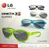 Lg 4 Lü Paket Ag F315 3d Gözlük