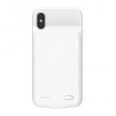 Baseus Plaid İphone Xs Şarjlı Kılıf Beyaz