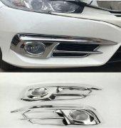 Honda Civic Fc5 2016 2018 Krom Ön Sis Kaplama