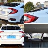 Honda Civic Fc5 2016 2018 Arka Cam Kaplaması Lamborghini Dizayn