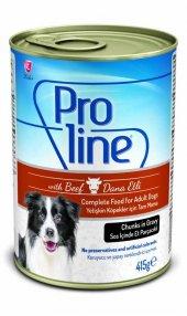 Proline Köpek Konserve Biftekli Sos İçinde 415 Gr X 5 Adet