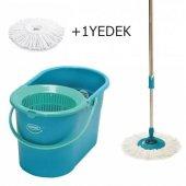 Motek Fix Mop Temizlik Kovası Temizlik Seti+iextra1ad Yedek Püskü