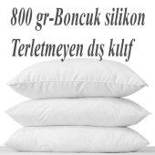 Ortopedik Boncuk Silikon Yastık Slikon Yastık 50x70 Cm 5 Adet