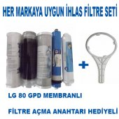 Ihlas Su Arıtma Cihazı Uyumlu 5 Li Filtre Seti