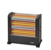 Simfer S1800wt Nero 3 Plus Elektrikli Soba Üç Çubuklu Emniyetli Elektrikli Isıtıcı