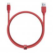 Aukey Cb Ac2 Usb 3.1 Usb A To Usb C Kablosu Örgülü (2mt) Kırmızı