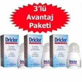 Driclor Anti Perspirant Roll On 20 Ml 3 Adet