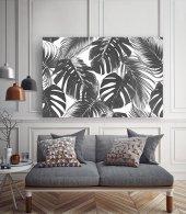 Palmiye Yaprakları Kanvas Tablo