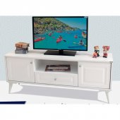 Beyaz Tv Sehpası 140 Cm