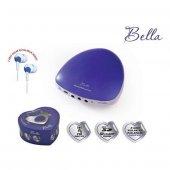 Goldmaster Bella Hoparlörlü Mp3 Radyo Mavi 2 Adet Kulaklık