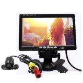 Audiomax Araç 7 İnç Araç Monitör +geri Vites Arka Görüş Kamerası