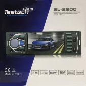 Tastech Sll 2200 Bt Usb Mıcro Sd Fm Bluetooth 4.1 Ekran Oto Teyp
