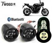 Twogo 606 Bluetoothlu Ekranlı Motorsiklet Usb Mp3 Çalar