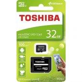 Toshiba 32gb Micro Sdhc Uhs 1 Thn M203k0320ea Bellek Kartı