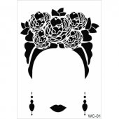 Wc1 Woman Collection Cadence A4 Stencil
