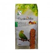 Gardenmix Platin Seri Vitaminli Meyveli Muhabbet Kuşu Yemi 1 Kg (