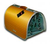 Lepus Flybag Kedi Köpek Taşıma Çantası 25*25*40 Cm Sarı