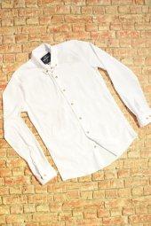Düz Gömlek Mrk Beyaz