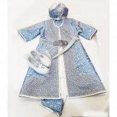 Elit Şehzade Sünnet Elbisesi Buz Beyazı