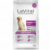 La Vital Maxi Adult Lamb Kuzu Etli Yetişkin Köpek Maması 12 Kg