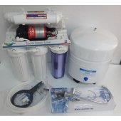 Su Arıtma Cihazı Aquabir 5 Aşamalı Tezgahaltı Pompalı,80 Gpd Lg Membran,lüks Musluk