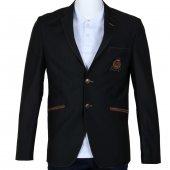 Erkek Blazer Ceket Siyah Slim Fit Mevsimlik Rar00333