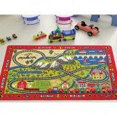 Confetti 133x190 Cm Railway Anaokulu & Çocuk Odası Oyun Halısı