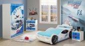 çocuk Odası, Roket Mavi Çocuk Odası Takımı 4 Parça
