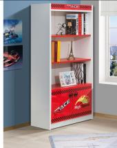 Kitaplık, Roket Kırmızı Çocuk Odası, Kitaplık