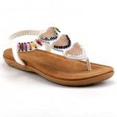 Guja 21026 Beyaz Kadın Sandalet