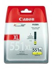 Canon Clı 551y Xl Pıxma Mg5450 6350 Xl Sarı Kartus