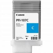 Canon 6706b001 Pfı 107c Cyan Kartus (130 Ml) Ipf 670 Ipf 680 Ipf 685 Ipf 770 Ipf 780 Ipf 785