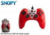 Snopy Sg 300 Kırmızı Usb Gamepad