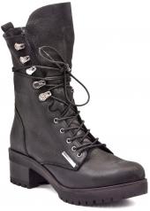 Mammamia D18kb 1275 Siyah Bayan Ayakkabı Çizme Bot Bot