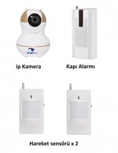 Angeleye Ks 512 Full Hd Wifi Ev Ve Bebek İp Kamera 4in1 Full Set