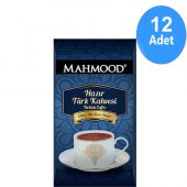 Mahmood Coffee Hazır Türk Kahvesi Orta 8gr X 12adet