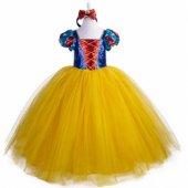 Tarlatanlı Pamuk Prenses Kostümü Kabarık Pamuk Prenses Kostüm
