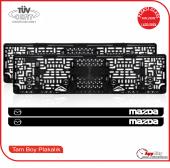 Mazda Logolu Pleksi Plakalık