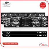 Chery Logolu Pleksi Plakalık