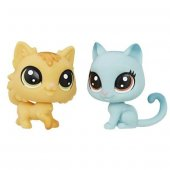 Littlest Pet Shop 2li Mini Miniş Kitty Fluffy