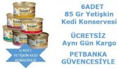 Gourmet Kıyılmış Kedi Konservesi 85 Gr 6 Adet Karışık
