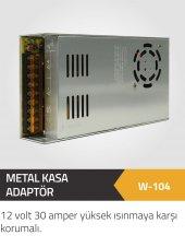 Winkel 12 Volt 30 Am. Mini Metal Kasa Yüksek Isınmaya Karşı Korum