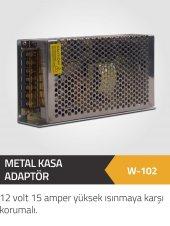 Winkel 12 Volt 15 Am. Mini Metal Kasa Yüksek Isınmaya Karşı Korum