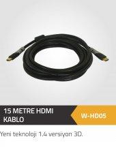 15 Metre Hdmı 1.4 Versiyon 4k Bakır Kablo