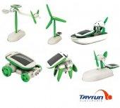 6 İn 1 Solar Robot Kiti