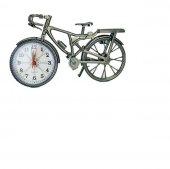 Dekoratif Bisiklet Çalar Masa Saati
