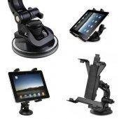Araç İçi Vantuzlu Tablet Tutucu (İpad Galaxy Tab Pda Uyumlu)
