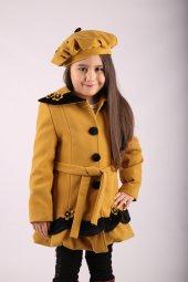 Milan Çocuk Club Kız 3 10 Yaş Kaşe Manto Çocuk Kaban